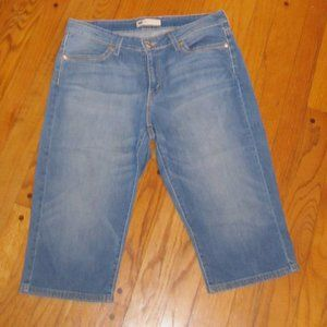 LEVI'S CROP JEANS 14 STRETCH DENIM
